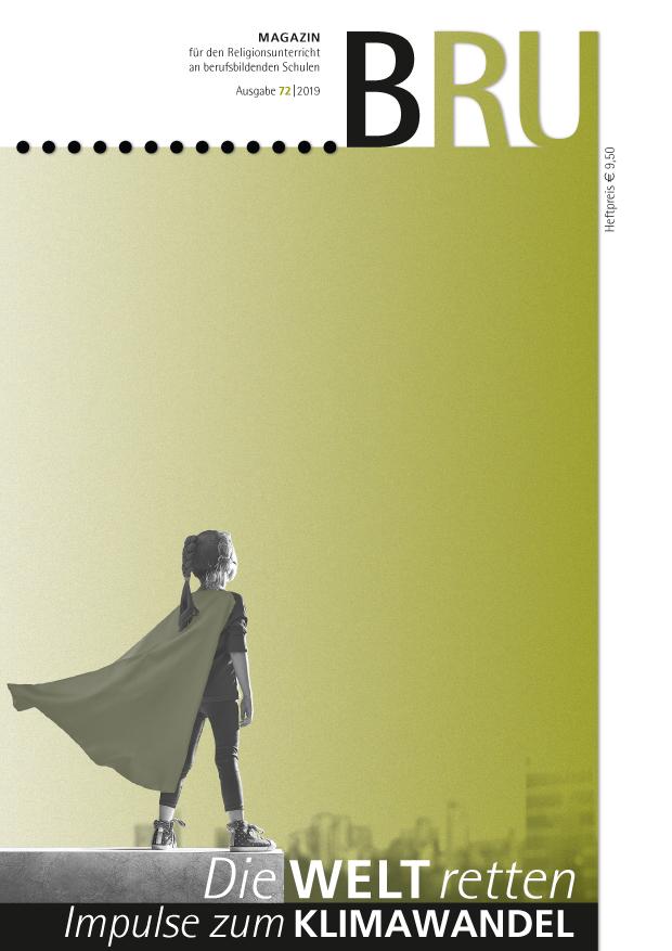 Titelseite BRU-Magazin 72/2019 Greta als Denkmal