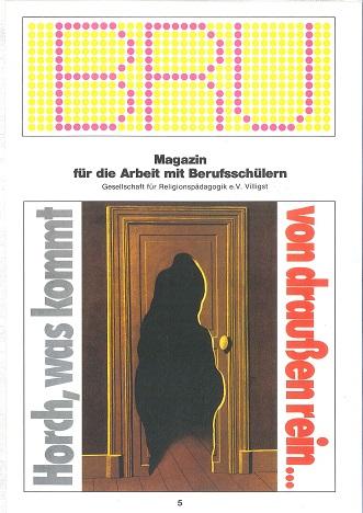 Titelseite BRU-05-1986_Kommen und Gehen
