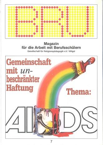 Titelseite BRU-07-1987_AIDS