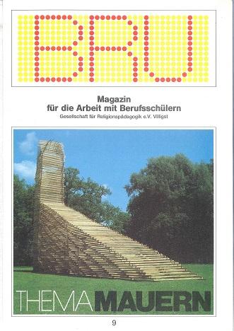 Titelseite BRU-09-1988_Mauern