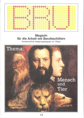 Titelseite BRU-13-1990_Mensch und Tier