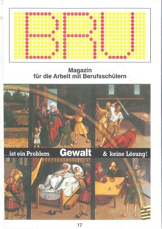Titelseite BRU-17-1992_Gewalt-Radikalismus