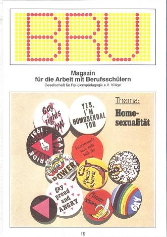 Titelseite BRU-19-1993_Homosexualitaet