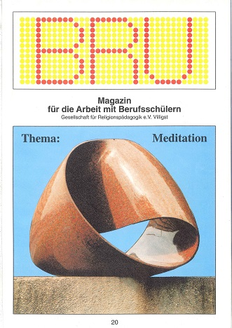 Titelseite BRU-20-1994_Meditation