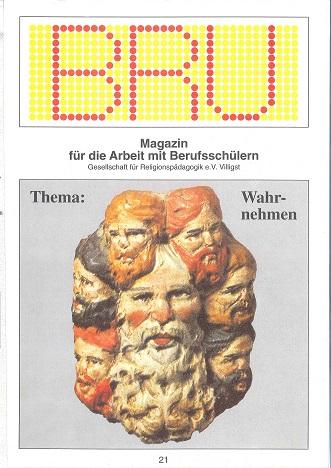 Titelseite BRU-21-1994_Wahrnehmen