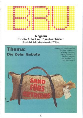 Titelseite BRU-27-1997_10 Gebote