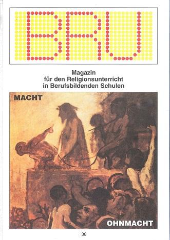Titelseite BRU-38-2003_Macht
