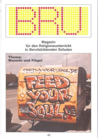 Titelseite BRU-40-2004_Wurzeln und Fluegel